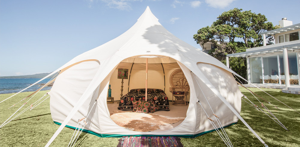 army dome bell tent glamping